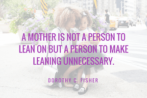 Mother's Day Marketing - Quote