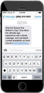 Mother's Day Marketing SMS